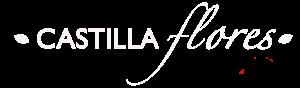logo CASTILLA FLORES blanco